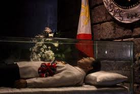 Marcos burial site in Batac